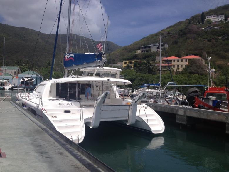 The BVI Boat