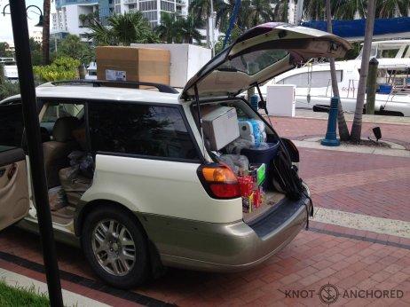 Our Subau loaded up