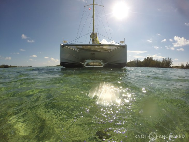Beached Catamaran 2
