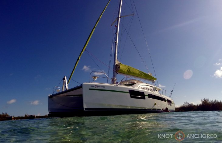 Making lemonade catamaran scrub