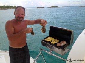 Bahamas lobsters