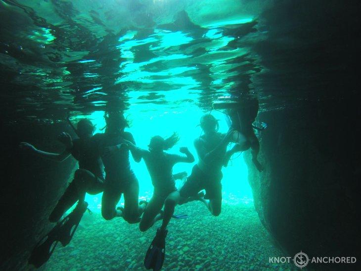 Snorkeling the Baths
