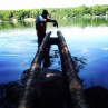Cottage country dock