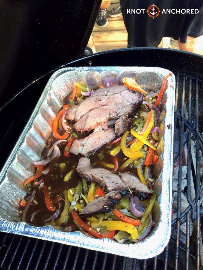 Sliced Smoked Blade Roast