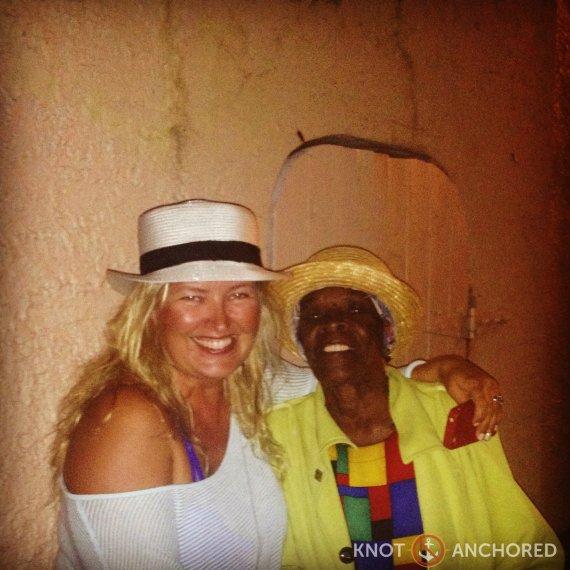 Hat Lady in St Croix, Virgin Islands
