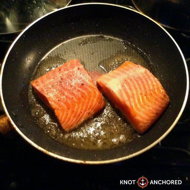 Sizzling Salmon Fillets