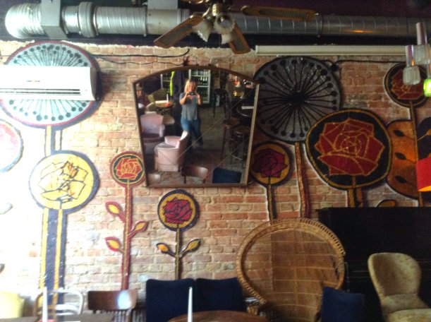 Inside cool pub Praga Poland