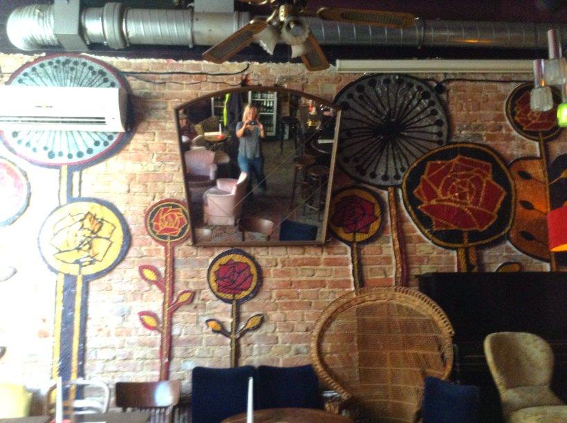 Inside cool pub Praga Poland
