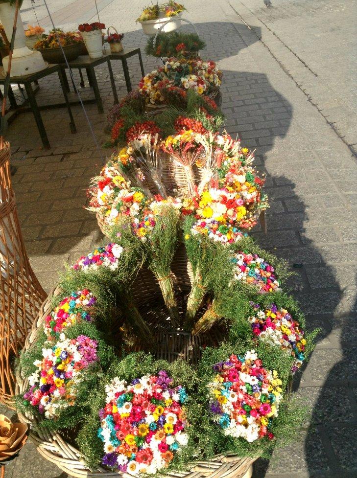 flower stand, krakow