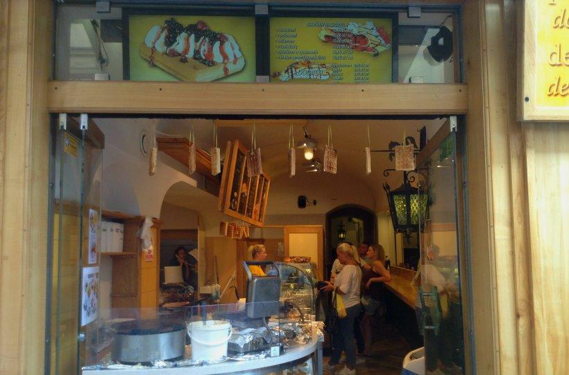 Bakery, waffles, Krakow
