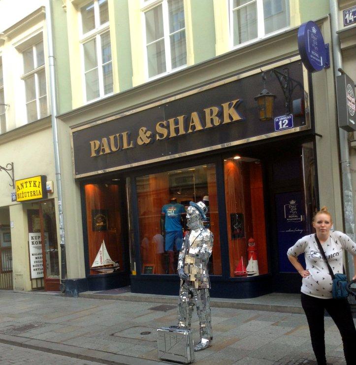 Paul and Shark Krakow
