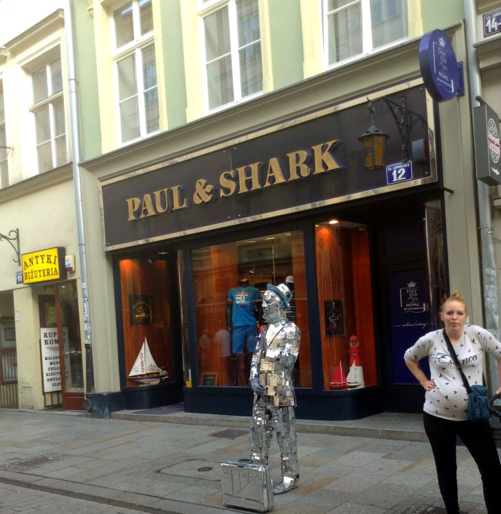 Paul and Shark Krakow