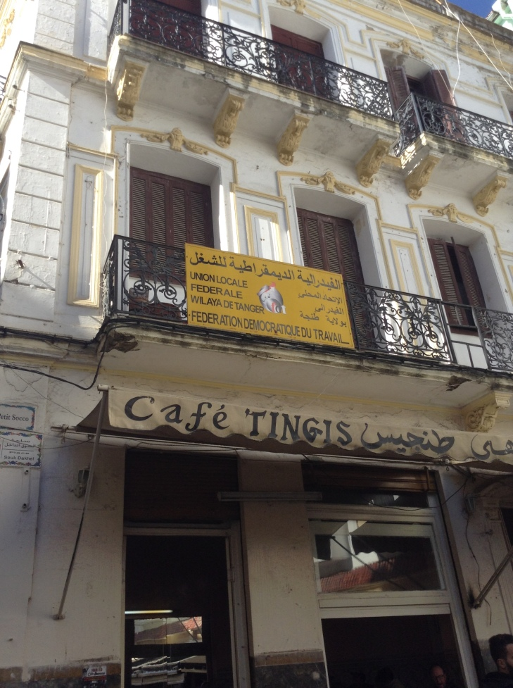 cafe tingis, Tangiers, Morocco