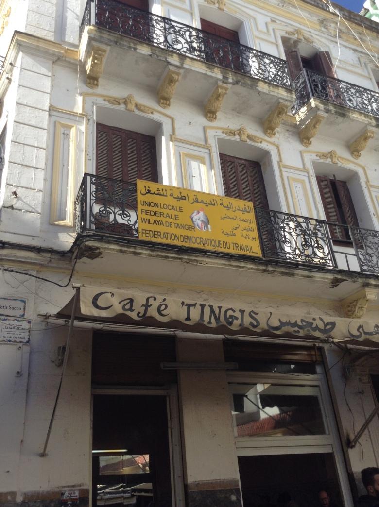 cafe tingis, Tangiers, Morocco
