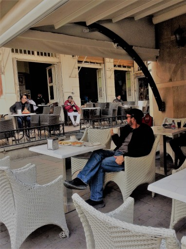Tangiers cafe
