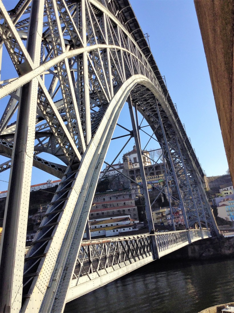 Dom Luis Bridge, Iron Bridge, Porto, Portugal
