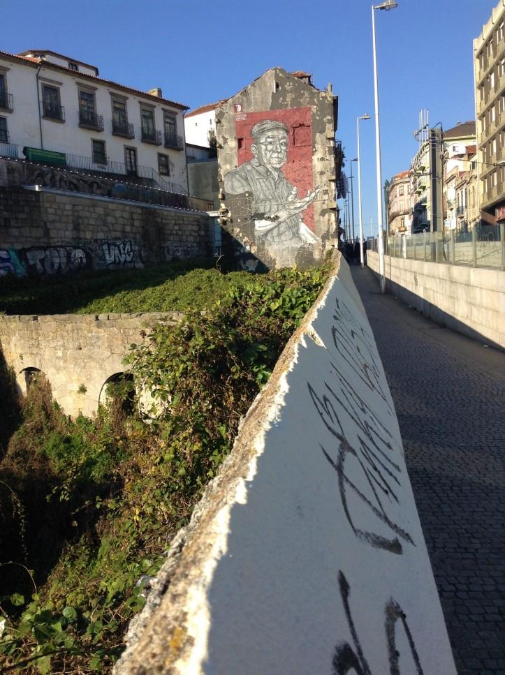 urban, grafiti, Porto