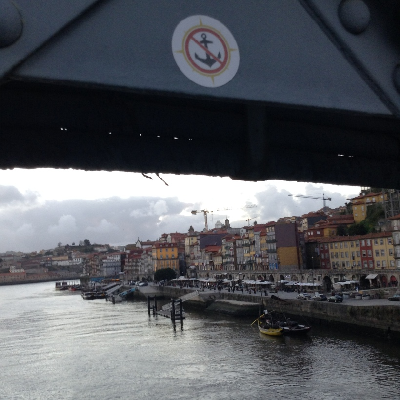 Douro River, Porto, Portugal, Dom Luis Bridge, vacation