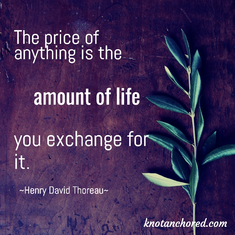 the price of anything