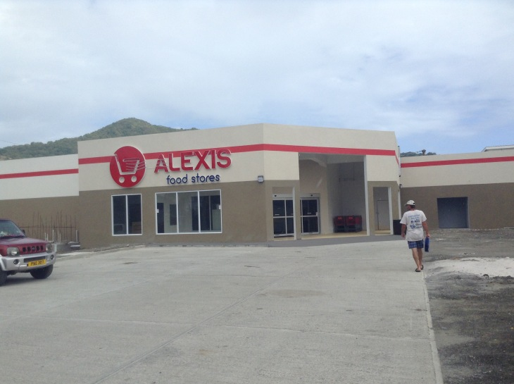 Alexis grocery store, provisioning, Caribbean