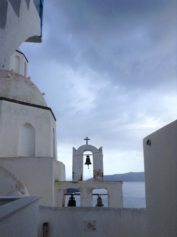 churchbells, Santorini, Greece