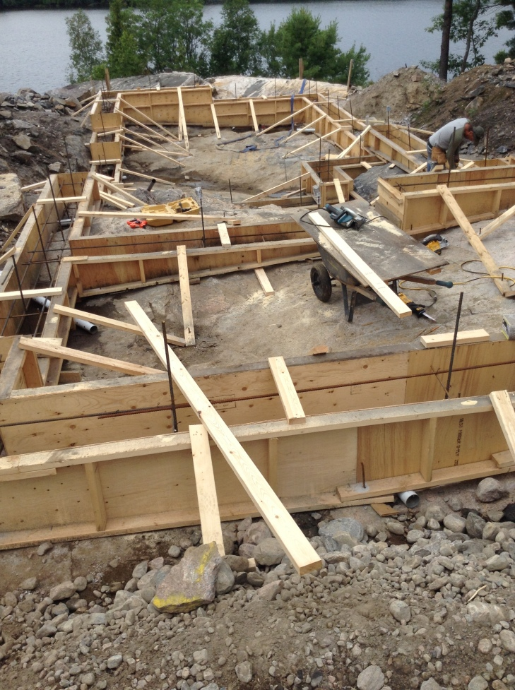 foundation framing