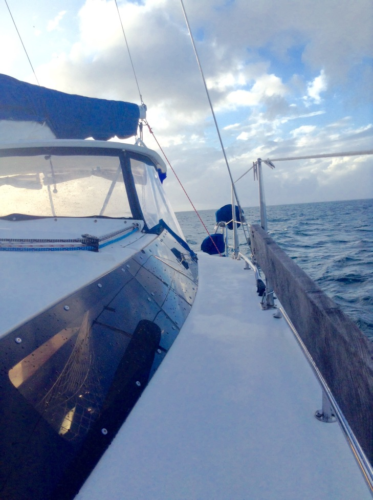 PDQ32 catamaran, sailing, ocean, Caribbean