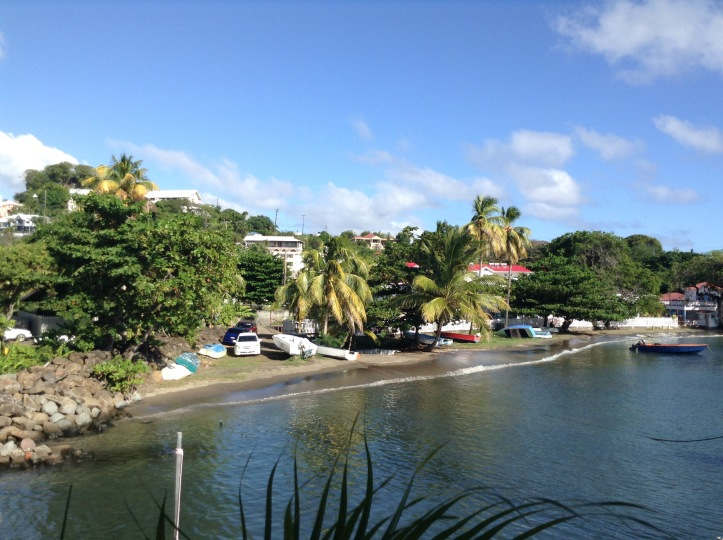 Marina, Caribbean, beach