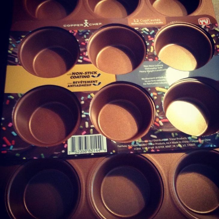 Copper Chef muffin pan